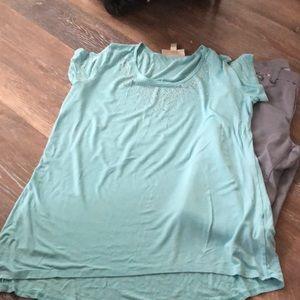 Anthony's original SZ L Aqua T-shirt